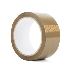 Brown Packing Tape Roll