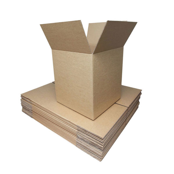 """10"""" x 10"""" x 10"""" Double Wall Cardboard Boxes"""