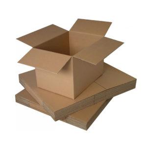 """4"""" x 4"""" x 4"""" Single Wall Cardboard Boxes"""
