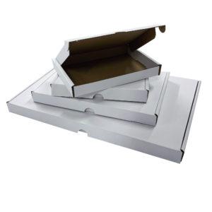 Royal Mail Large Letter Boxes (PIP) - White Mini